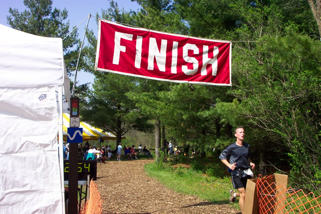 Brian conquers his first Ice Age Trail 50