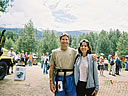 Bill and Michelle at Twin Lakes