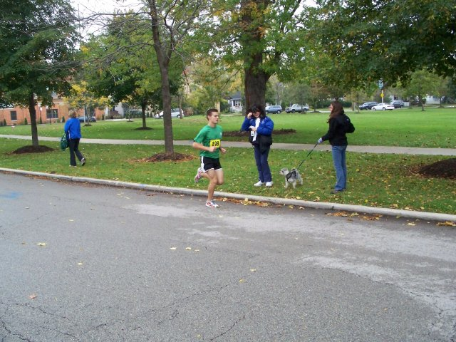 Saturday October 25, 2008: Going in Circles 5K