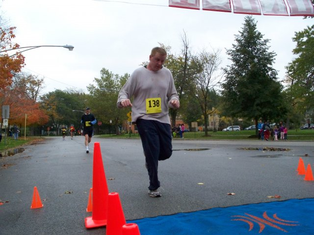 Going in Circles 5K: Saturday October 25, 2008