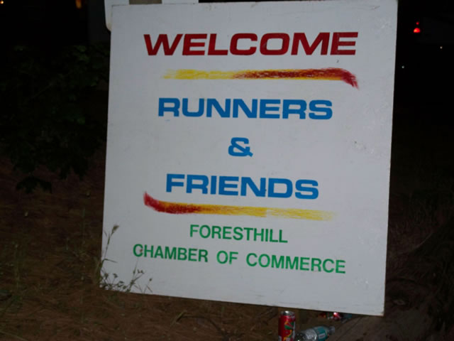 Saturday June 26th : Foresthill School - 62 Mile Aid Station