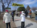 Saturday March 26, 2011 : Hanging out at the Finish