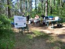 Sunday June 3, 2012 : Tamarack Aid Station in Time for Pancake Breakfast