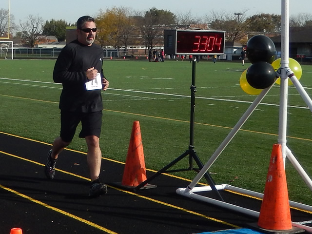Finish Area of the Tiger Tear 5k : Sunday October 19, 2014