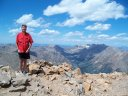 Monday August 17, 2009 : Lung expanding training day on Mt. Elbert