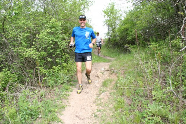 Ice Age 50 mile returning to AS 5 from Rice Lake