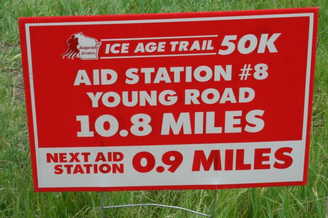 Ice Age 50 mile returning over Bald Bluff to AS 8 by Young Rd