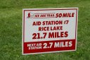 50 mile at or near Rice Lake Aid Station
