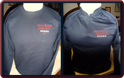 [image: 2012 Fleece Crewneck & Vets Marathon Jacket]