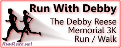 [Logo: The Debby Reese Memorial 3K Run/Walk]