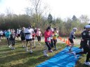 Start of the Half-Marathon DPR Trail Race : Saturday October 22nd, 2011