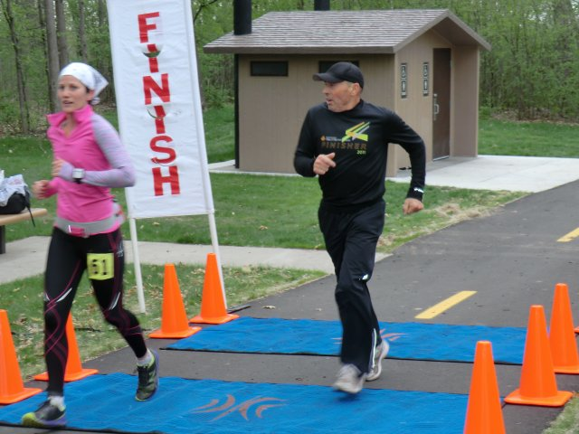Saturday April 21st, 2012 : Trail Mix Race - Lap & Finish Area