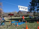 Saturday October 20, 2012 : Finish of the DPR Trail Half-Marathon