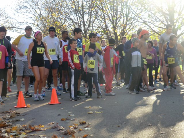 Start of the 5-Km Main Event : Saturday October 27, 2012