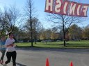 Finish Area of 7th Annual Going in Circles : Saturday October 27, 2012