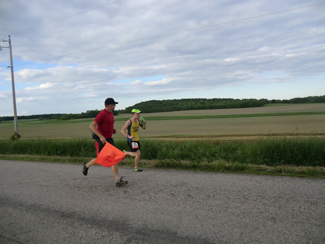 Friday June 7th : Tyler Runs Leg 7 with an Extra 3.5 Miles of Detour