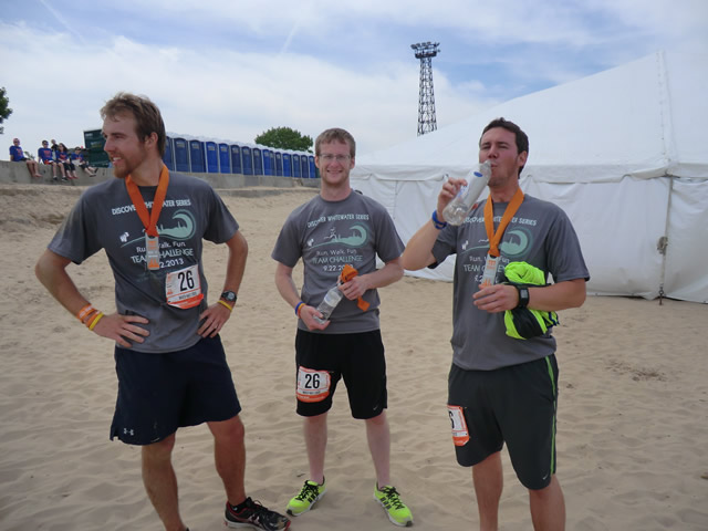 Saturday June 8th : Finish Line at Montrose Beach