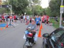 Thrills at the finish of the Chicago Full Moon 5-Km