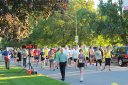 Runners prepare : Race Gathering