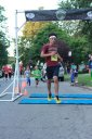 Tim Hatzopoulos of Park Ridge finishes 3rd overall in the Chicago Full Moon 5-Km