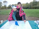 Anastasia and Crystal Spot their Names on the 50-Mile Ultra Leader Board