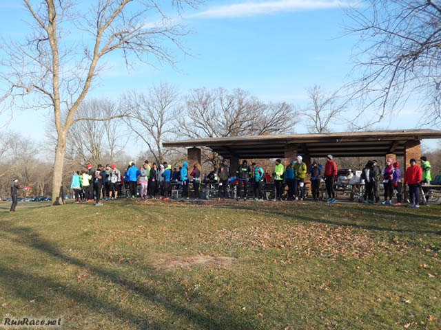 Start of Devonian Fall 50-Km : Saturday November 15, 2014