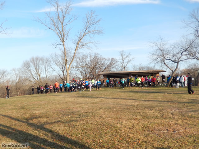 And They're Off... Start of Devonian Fall 50-Km : Saturday November 15, 2014