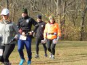 And They're Off... Start of Devonian Fall 25-Km : Saturday November 15, 2014
