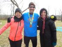 50-Km Second Place Finisher, Alec Bath : Saturday November 15, 2014