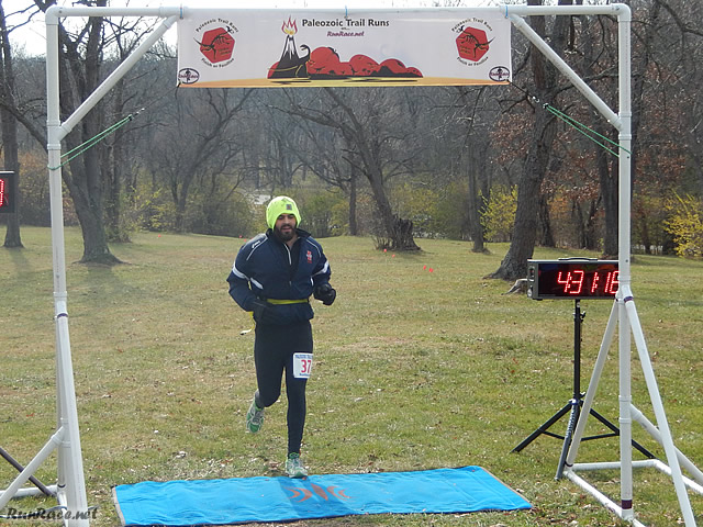 50-Km 7th Place Finisher, Dominic Lopez : Saturday November 15, 2014