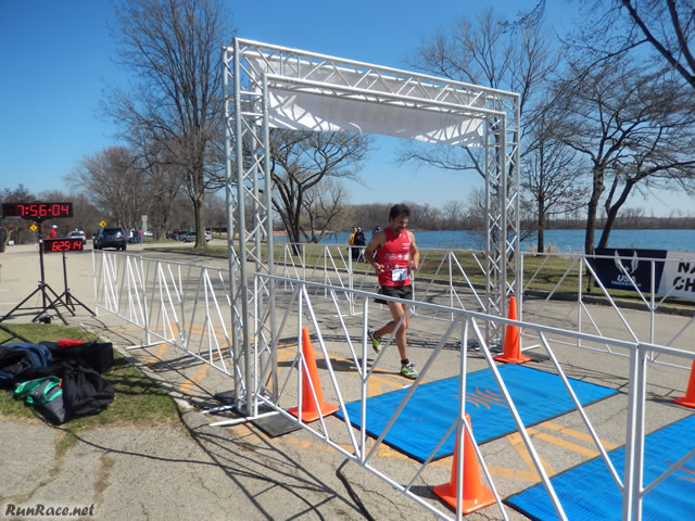 Action from the Finish Area of MadCity Ultras