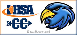 [Logo: 2017 IHSA 2A Regional Boys and Girls Cross Country]