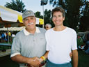 Bill with Wasatch Front 100 Race Director John Grobben
