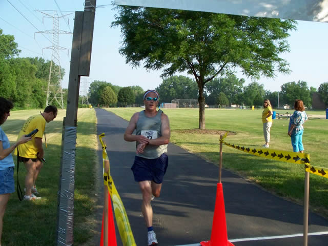 Mark Luttrell wins his age group