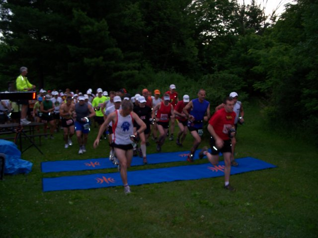 Saturday June 5th : Start of Kettle 100