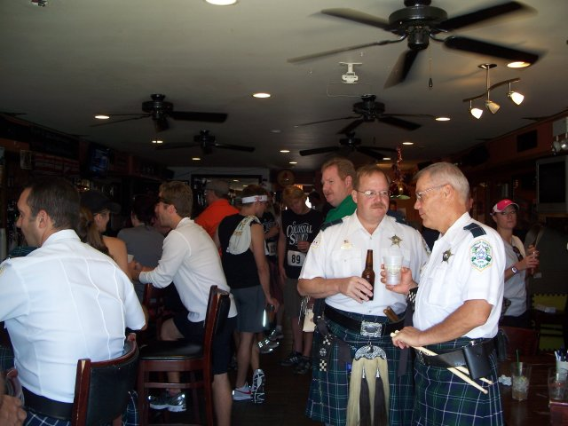 Sunday September 19, 2010 : Fun at the 1st Annual Kilt Run