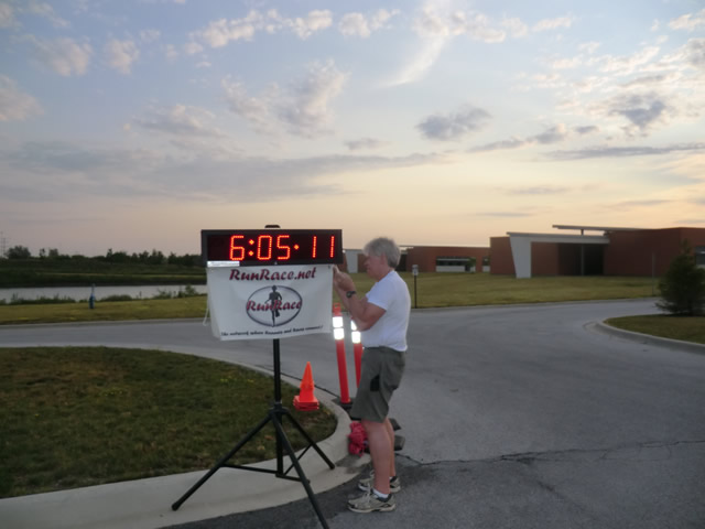 Saturday June 30, 2012 - Start of The Great 8K!