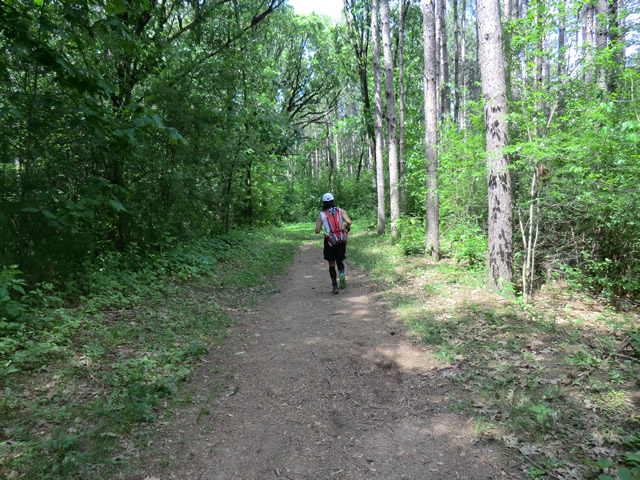 Saturday June 2, 2012 : Trail Between County Rd ZZ & Scuppernong Turnaround
