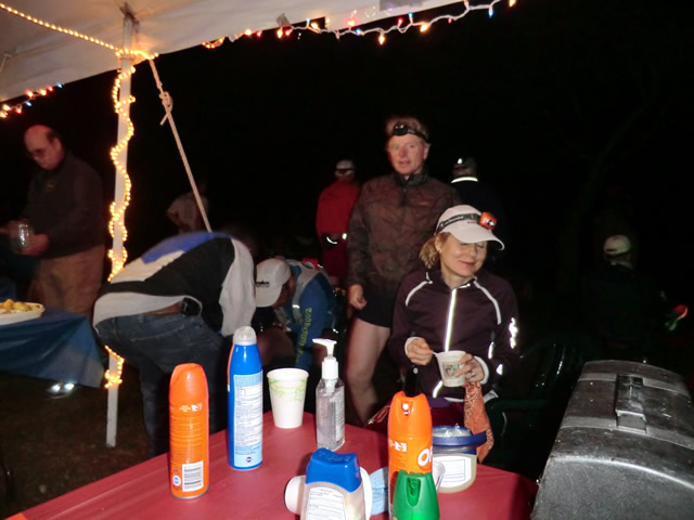 Sunday June 3, 2012 : Up All Night at Rice Lake Aid Station