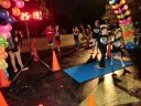 Finish line of the inaugural MSW Light Up the Night 5k.