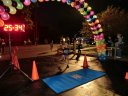 Finish line of the inaugural MSW Light Up the Night 5k