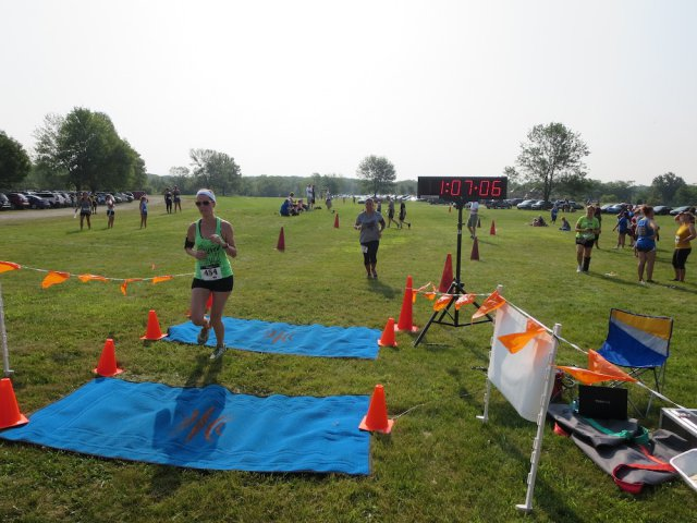 Another fine finish at the Run Dirty 5K/10K