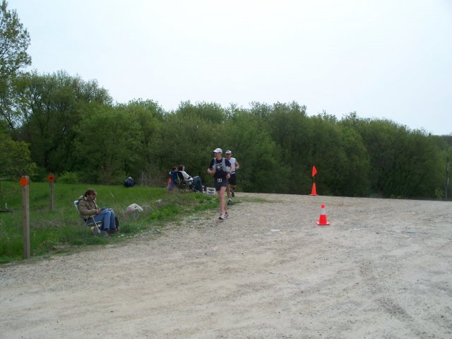 May 10th 2008 : Ice Age Trail 50 : Aid Station #5 Inbound