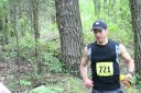 Just behind the first 5 in the 50K 6.4 miles in