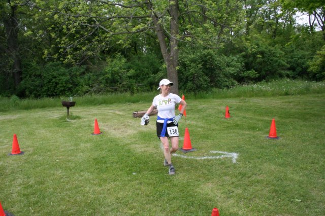 Ice Age 50 mile at Rice Lake Turnaround