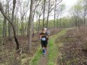 Returning from Horsemen's Park about 11.5 miles out on the 50K