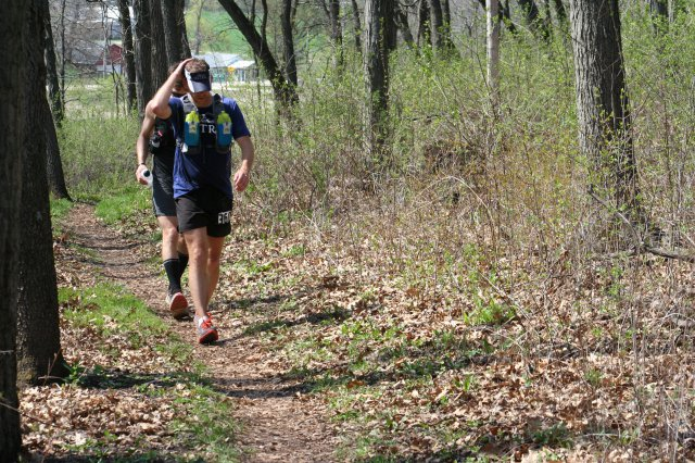 50 mile, near Bald Bluff, closing in on the finish