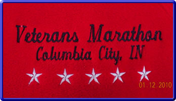 [Photo: Veterans Marathon Close-up]