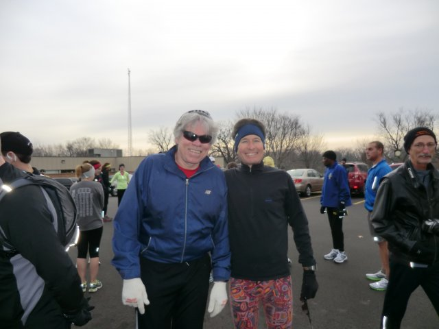 Pre-race 17th Annual Fat Ass 50Km - Illinois Version : Sunday January 8th, 2012