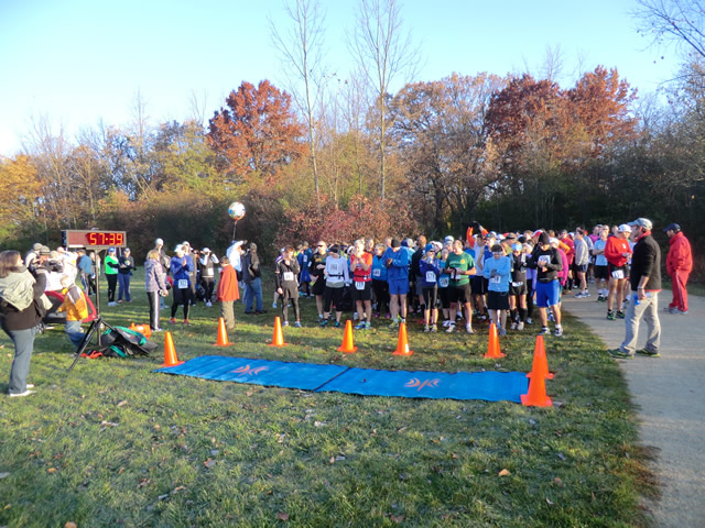 Early Morning - Saturday October 20, 2012 : Start of the DPR Trail Marathon